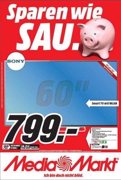 Sony 60 W 605 für 799,- im MediaMarkt Frankfurt Nordwestzentrum ab dem 09.03.2015
