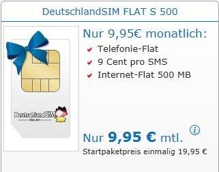 DeutschlandSIM FLAT S 500