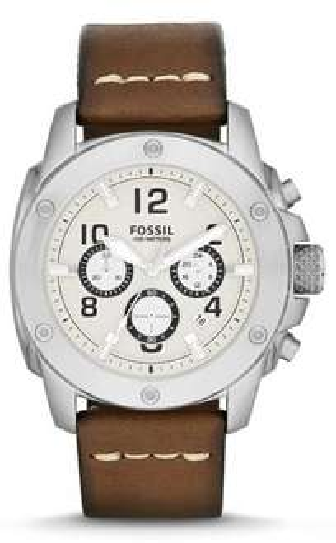 [Elektroshop Wagner] Fossil Modern Machine FS4929 Herren Edelstahl-Chronograph mit Lederarmband für 85,01€ incl.Versand!