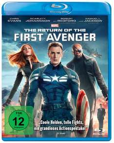 [Blu-ray] The Return of the First Avenger / Thor: The Dark Kingdom @ Amazon (Prime)