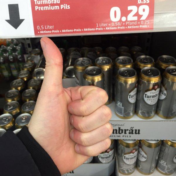 [Lokal?] Turmbräu - 0,5l Dose nur 29ct @ Penny München