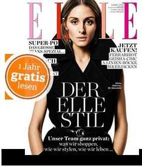 1 Jahr Elle for Free - endet automatisch