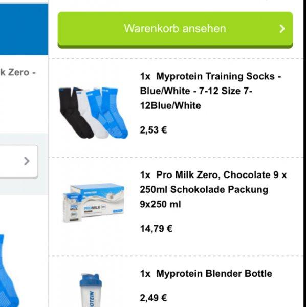 Myprotein Socken!