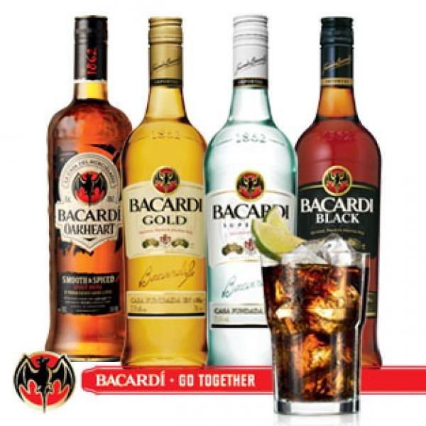 Bacardi Black, Gold, Oakheart & Superior 0,7 Liter für 8,91 Endpreis @Metro