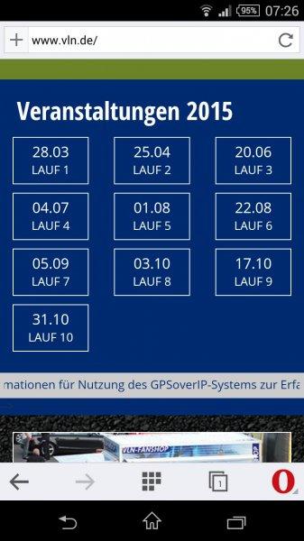 VLN Langstreckenmeisterschaft auf dem Nürburgring