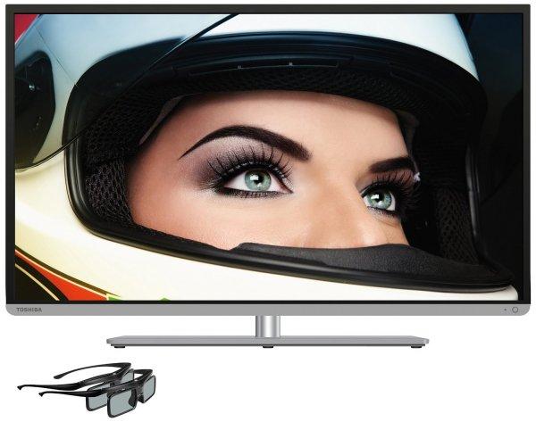 [Blitzangebot] Toshiba 48L5441DG - Full HD, 3D LED-Backlight-Fernseher, 200Hz AMR (100Hz nativ), Smart TV, WLAN, USB-Recording inkl. Timeshift