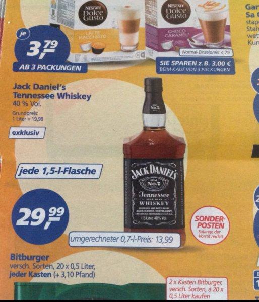 Jack Daniel's Tenessee Whiskey 29,99 €