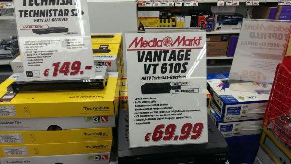 Vantage VT 610S Digitaler HD Twin Receiver Media Markt Bischofsheim