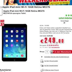 Apple iPad mini Retina 16 GB WiFi [electronic4you]