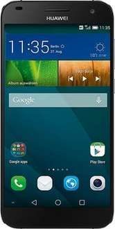 Huawei Ascend G7  ab 201,99€ in Schwarz (5,5 Zoll IPS-Display, 1,2 GHz Quad-Core-Prozessor, 13 Megapixel Kamera, Android 4.4) bei cyberport.de