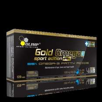 Olimp Gold Omega 3 Sport Edition 120 Stück Kapseln