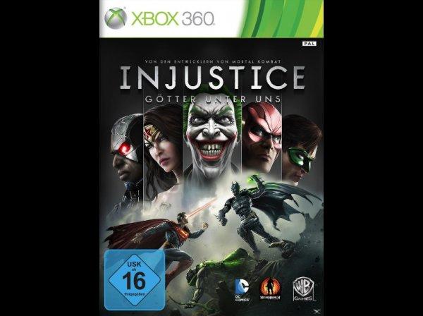 "[Saturn.de] PS3 & Xbox 360: ""Injustice: Götter unter uns"" für 11,98€ (Abholung 9,99€)"