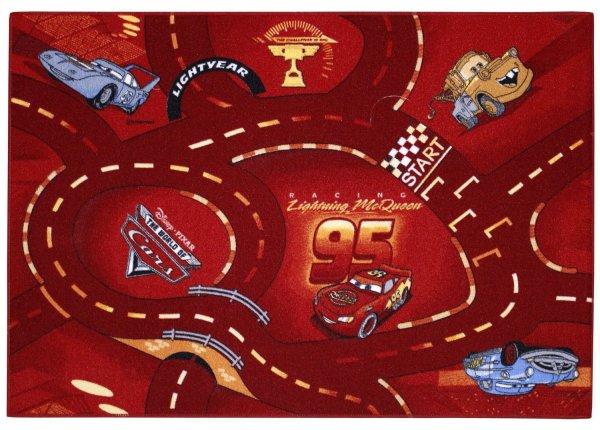 Spielteppich Cars Rot 95 x 133 (Amazon Marketplace kostenlose Lieferung)