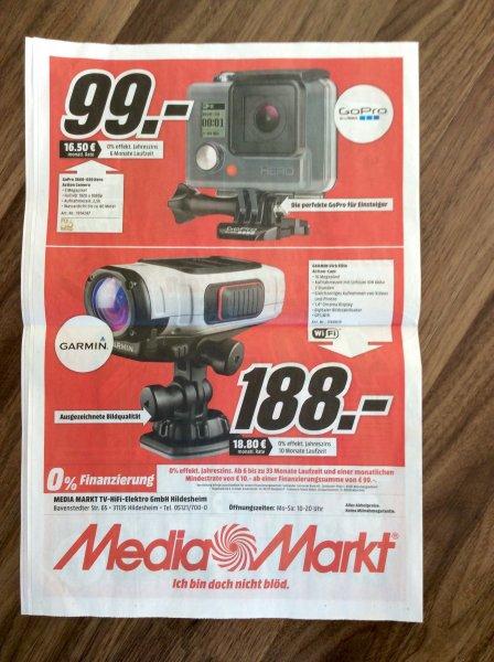 [lokal?] GoPro Hero 3660-039 Action Camera im Mediamarkt Hildesheim, offline