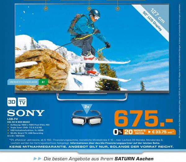 [Lokal Aachen] SONY KDL-50W805B 675€,SONY KDL-55W805B 835€ @ Saturn