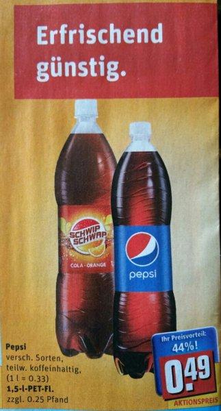 [Lokal] Rewe Berlin Pepsi versch. Sorten 1.5L 0.49€