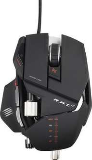[Amazon Blitz] Mad Catz R.A.T. 7 Gaming Maus, 6400 dpi, PC und MAC für 59,99€