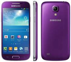 "Samsung Galaxy S4 Mini in Violett (purple), Amazon WHD ""sehr gut"" für 163,06"