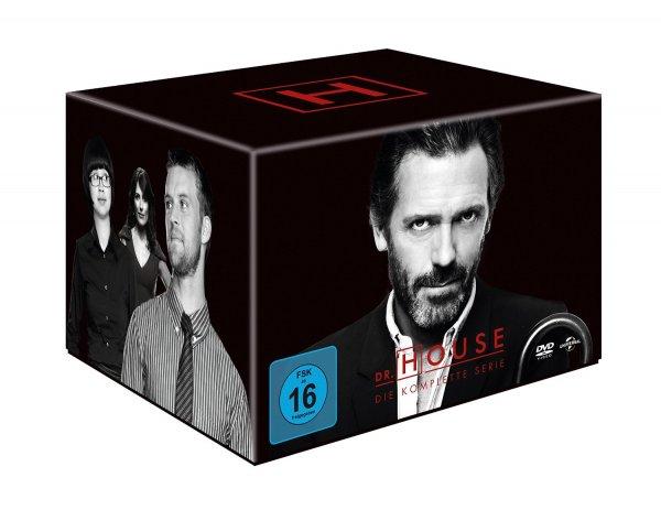 [Amazon.de] Dr. House - Die komplette Serie, Season 1-8 (46 Discs) für 49,99 EUR