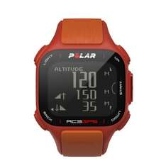 Polar Pulsuhr RC3 GPS HR red/orange bei comtech.de