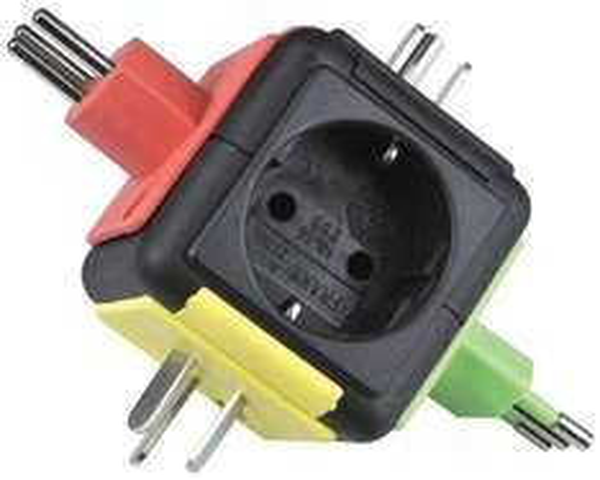 [bei amazon] uniTEC 41461 Reisestecker, Welt, mit Adapter für 13,94€
