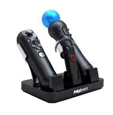 PS3 - Move Tri-Charger - Ladestation für Move Controller und Headset
