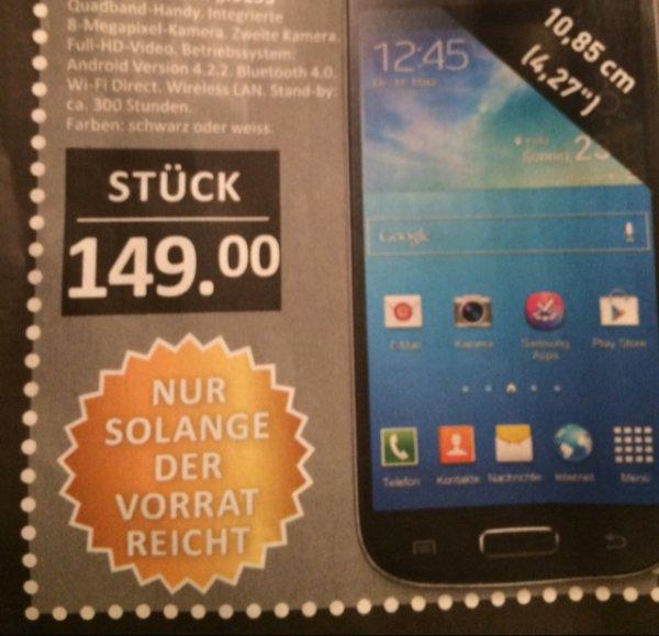 [Lokal Duisburg + Krefeld} Samsung Galaxy S4 Mini in Schwarz oder Weiß (Vertragsfrei)