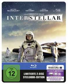 Interstellar Blu-ray Steelbook [cede.de]