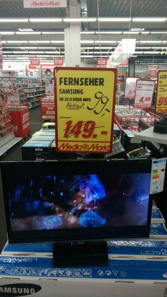 (Lokal MM SW) Samsung UE 22H5000 TV für 99,-