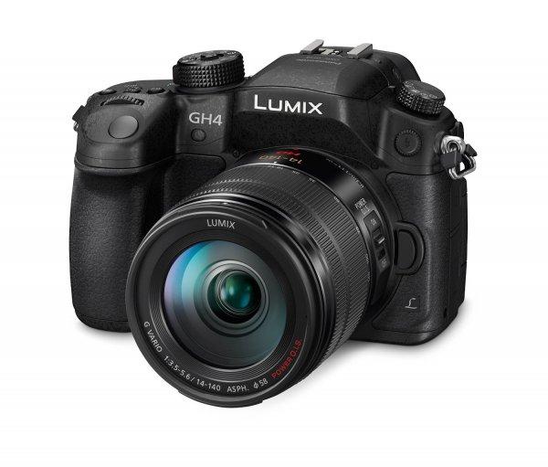 [Amazon] Panasonic Lumix DMC-GH4HEG-K Systemkamera mit Objektiv Lumix G Vario (16 Megapixel, 7,5 cm (3 Zoll) OLED Touchscreen, 4K/UHD-Aufnahme, Utra-Higspeed Autofokus, optische Bildstabilisierung, WiFi, NFC) für 1666€