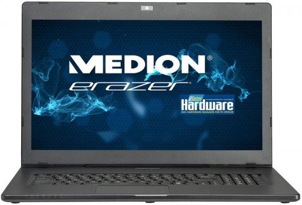 "Medion X7613 (i7-4710HQ, GTX 860M, 17,3"" FHD matt, 16GB RAM, 64GB SSD & 1TB HDD, Win 8.1, 2,7kg) - 999€ @ Medion.de"