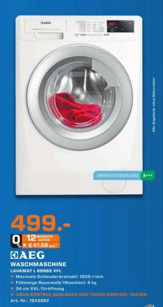 [Lokal Nürnberg]  AEG Lavamat L69682 VFL Waschmaschine 499,00 Euro - 130 Euro unter idealo.de