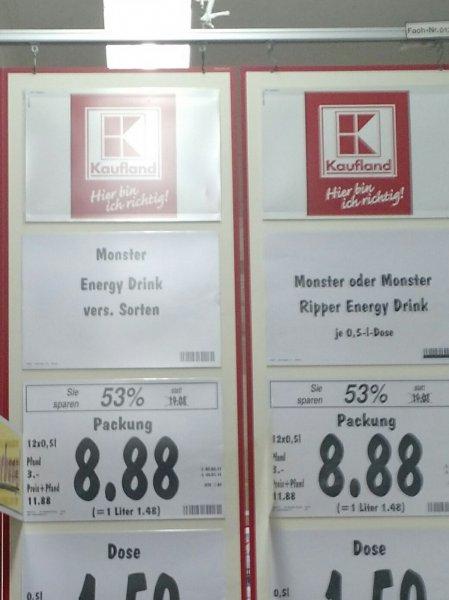 [Lokal] Kaufland Plauen, Monster Energy, 12er Pack