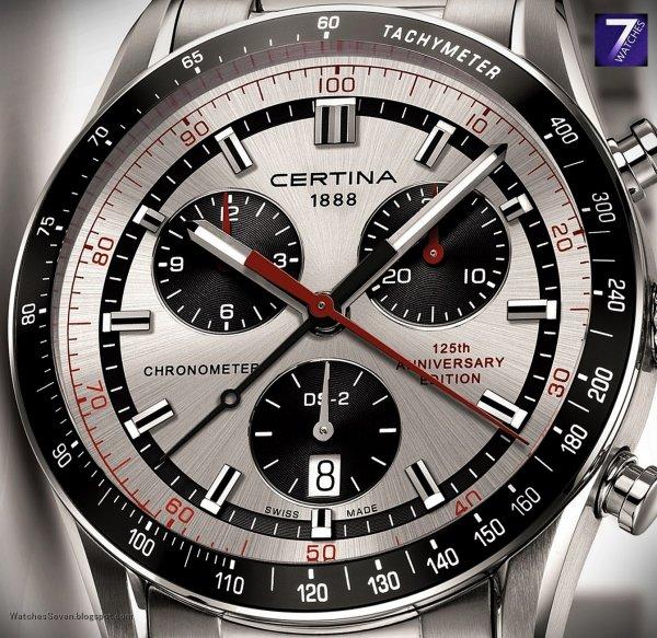 [Amazon.de] Certina DS2 Precidrive thermokompensierter HAQ Chronograph mit COSC Chronometer Zertifikat