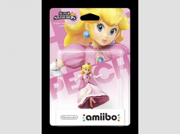 Peach amiibo aus der Smash Bros. Collection für 9,99 EUR auf saturn.de