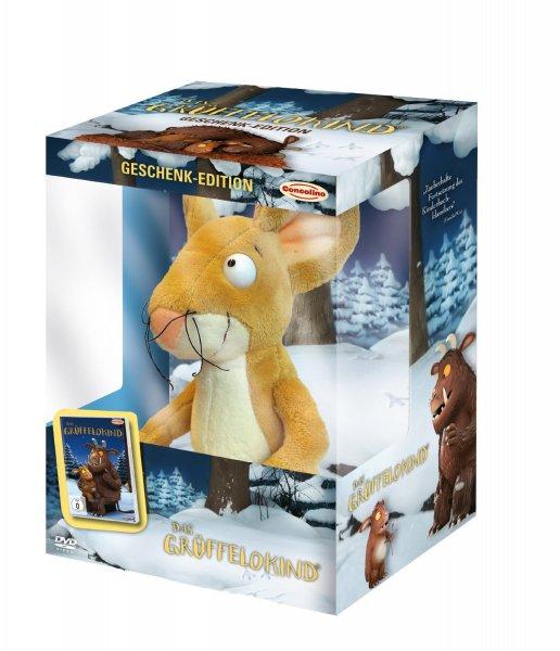 Das Grüffelokind (Geschenk-Edition) DVD mit der Grüffelo-Plüschmaus für 8,45€ bei Amazon