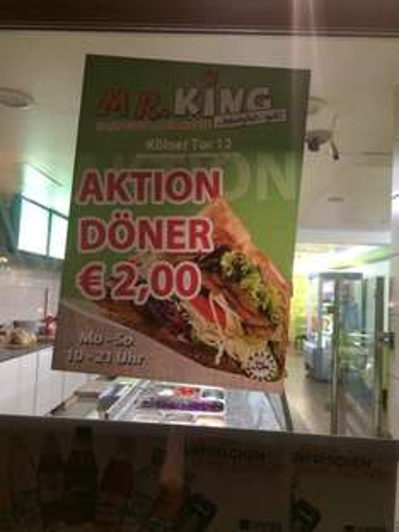 Döner für 2€ [Lokal in Siegen]