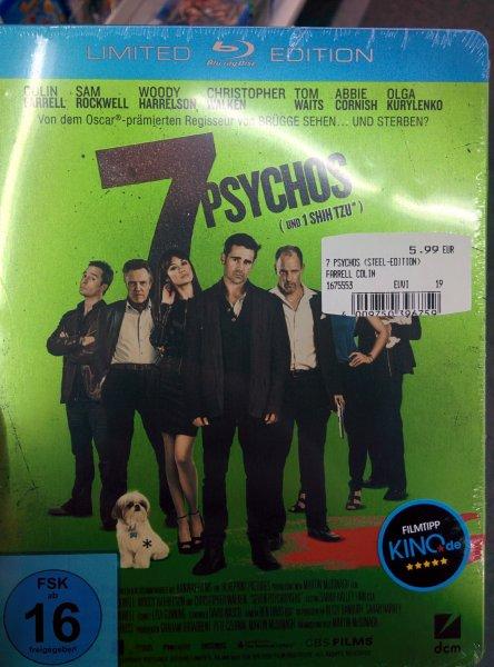 (Media Markt Schorndorf) 7 Psychos [Blu-ray] [Limited Steelbook Edition]