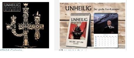 Unheilig Best Of CD + Gratis Bandkalender für 7,49 € @ Saturn Online