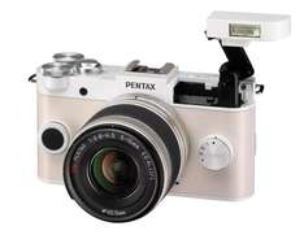Pentax Q-S1 Systemkamera Kit inkl. 5-15 mm Objektiv Weiß 280€ @amazon.fr