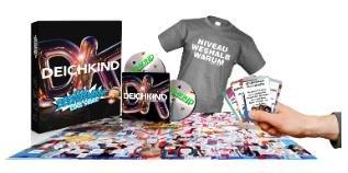 Deichkind - Niveau Weshalb Warum (Limited Fan Box + T-Shirt M) - (2 CD) für 29,99 € @ Saturn online