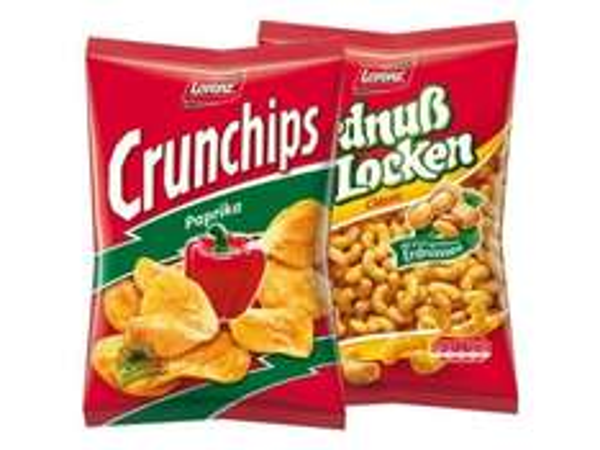 [LIDL] Lorenz Crunchips/Erdnußlocken für 1,11 Euro
