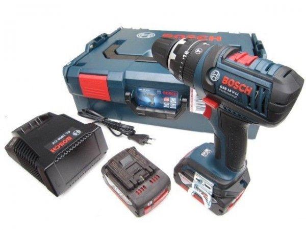 Ebay : BOSCH Blau Professional GSB18 V-EC + 2x 4,0 Ah + L-Boxx 299€ !!!