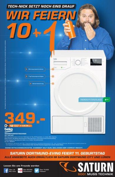[Saturn Dortmund+Lünen] Beko DPY 7405 HW3 Wärmepumpentrockner / A++ / 7 kg