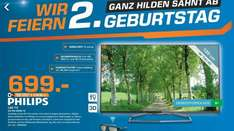 [lokal Saturn Hilden] sehr gute TV Angebote! Sony 4K TV KD-49x850, Philips Ambilight 55PFK6959