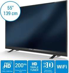 [Amazon] Grundig 55 VLE 822 BL - 55 Zoll, 3D, Smart TV, Triple Tuner, Wlan