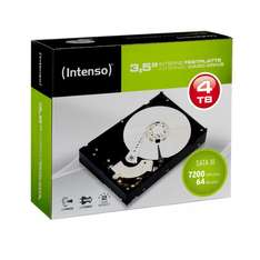 Intenso 4 TB 3,5 Zoll Intern HDD Festplatte Retail Kit 6513123 SATA III 600 7200