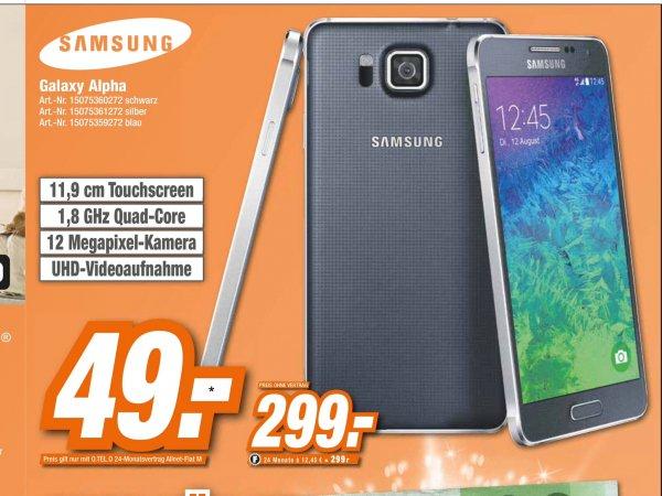 HEM EXPERT Samsung Galaxy Alpha 299 Euro
