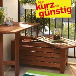 Gartenmöbel bei IKEA stark reduziert