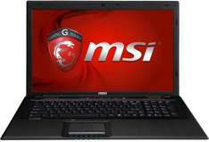 "MSI GP70 (i7-4710MQ, 4GB RAM, 500GB HDD, GeForce 840M, 17,3"" FHD matt, 2,7kg) - 649€ @ ebay"